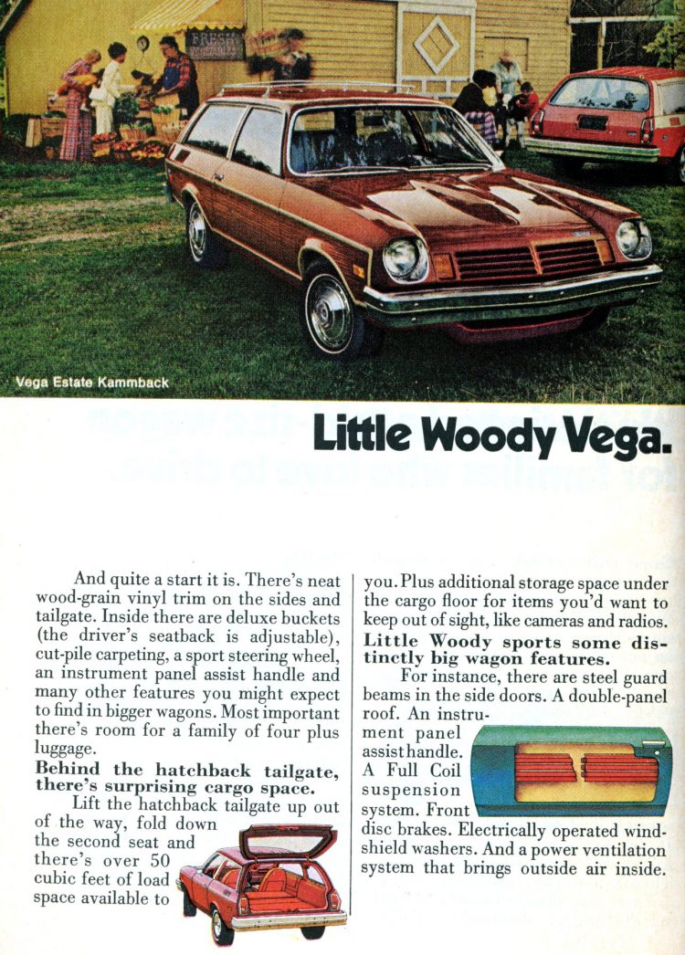 Station wagon commercial en conserve)
