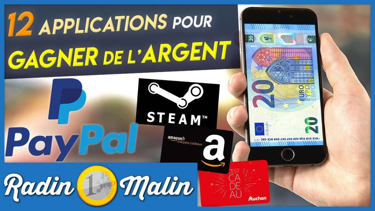 application gagner de largent sur Internet