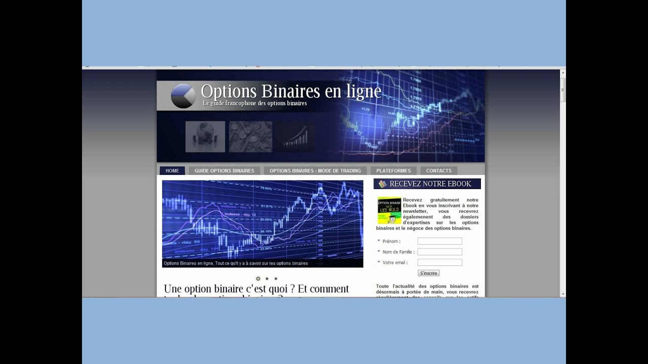 point de pivot dans les options binaires