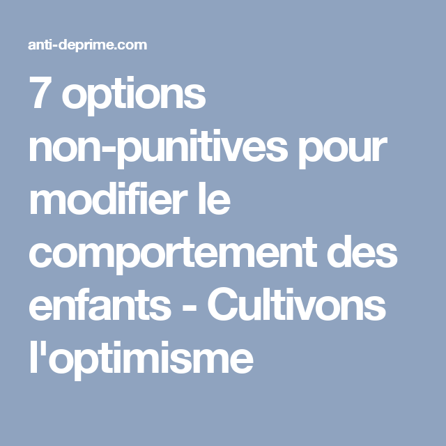 comportement des options)