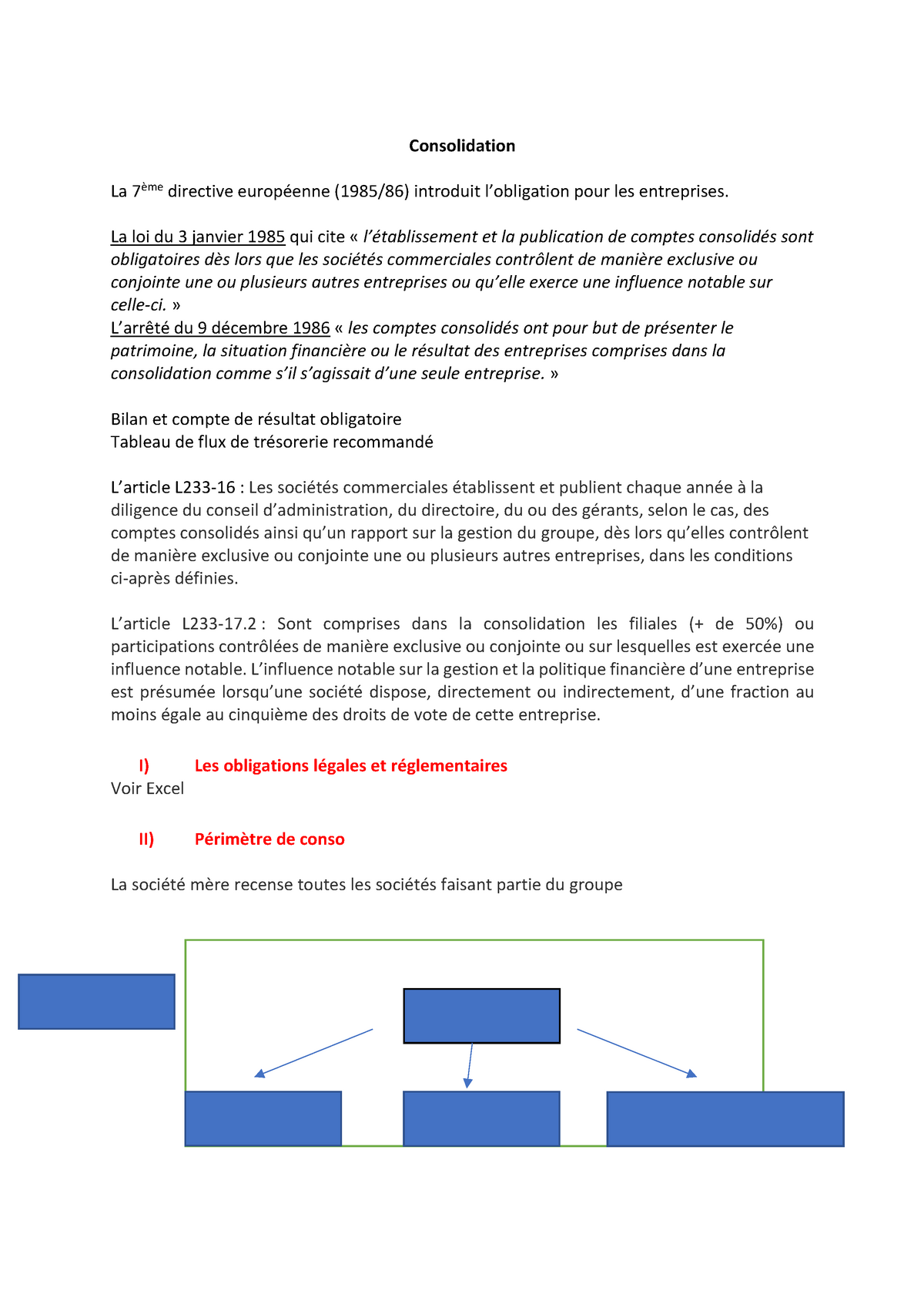 consolidation commerciale - Traduction anglaise – Linguee
