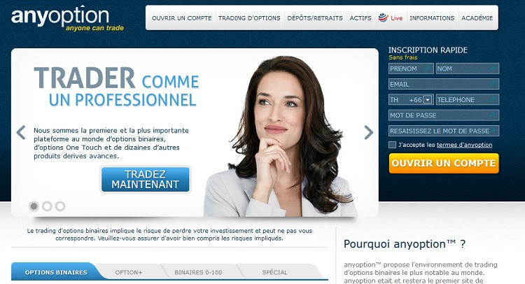 Fonctionnement des brokers options binaires