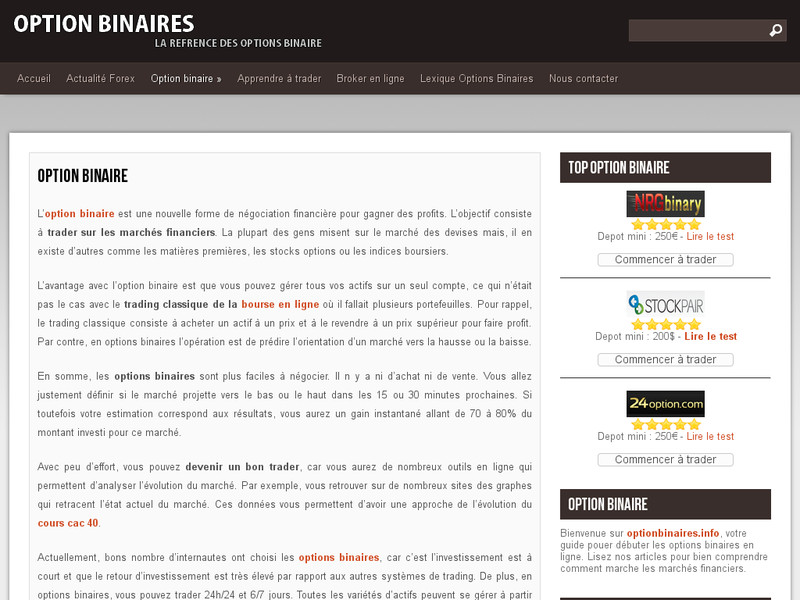 options turbo et binaire