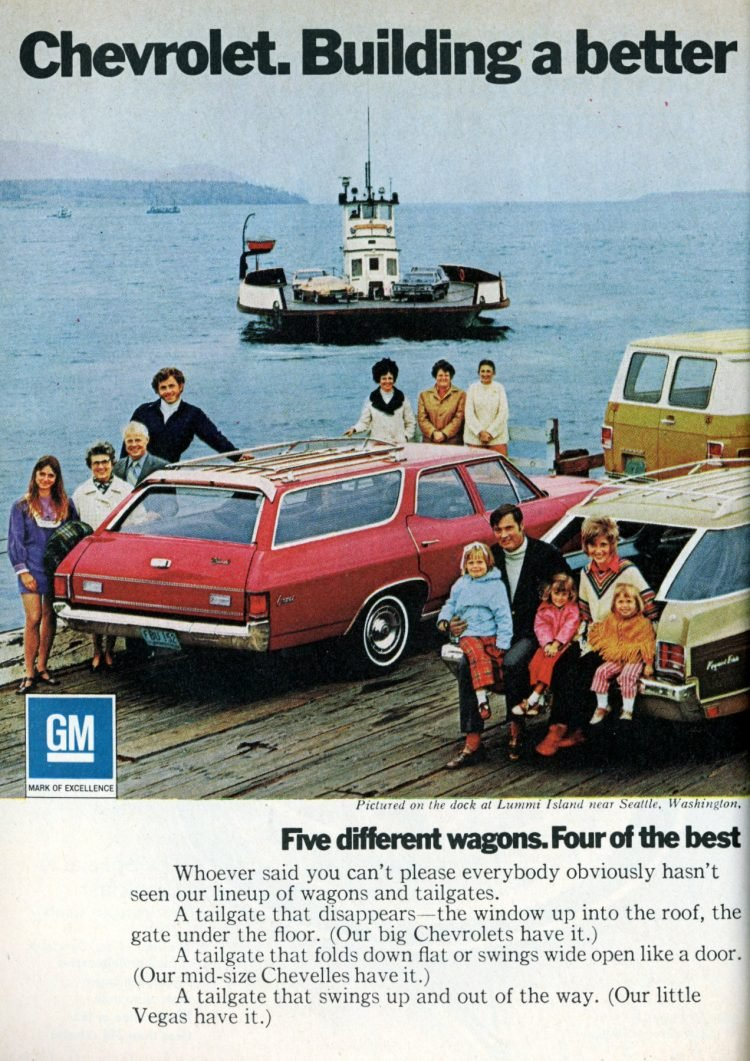 Station wagon commercial en conserve