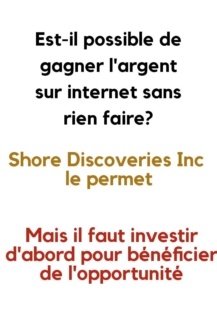 gains faciles sur Internet