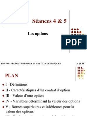 Exemple concret illustrant le fonctionnement des options | Desjardins Courtage en ligne