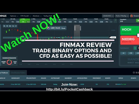 Finmax Review - Meilleures options binaires et courtier en CFD