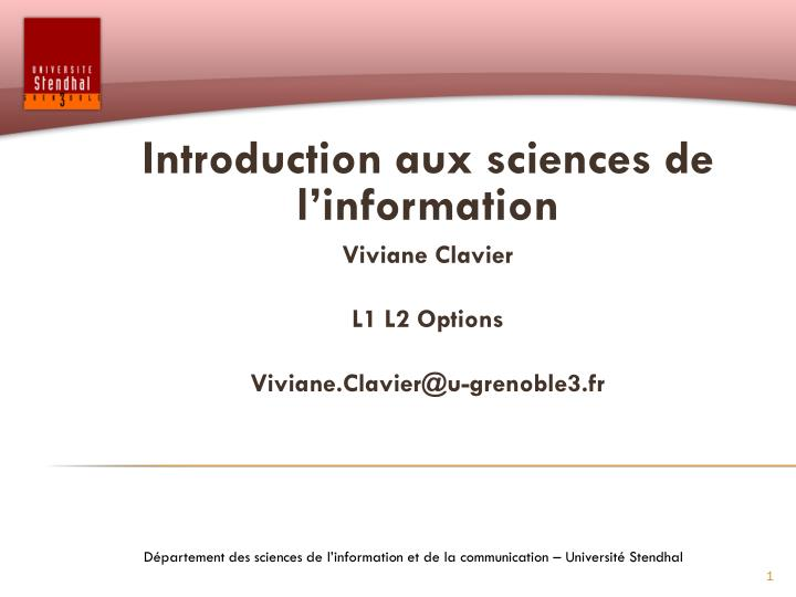 chezwat.fr - Introduction aux options - Déroulement des séances