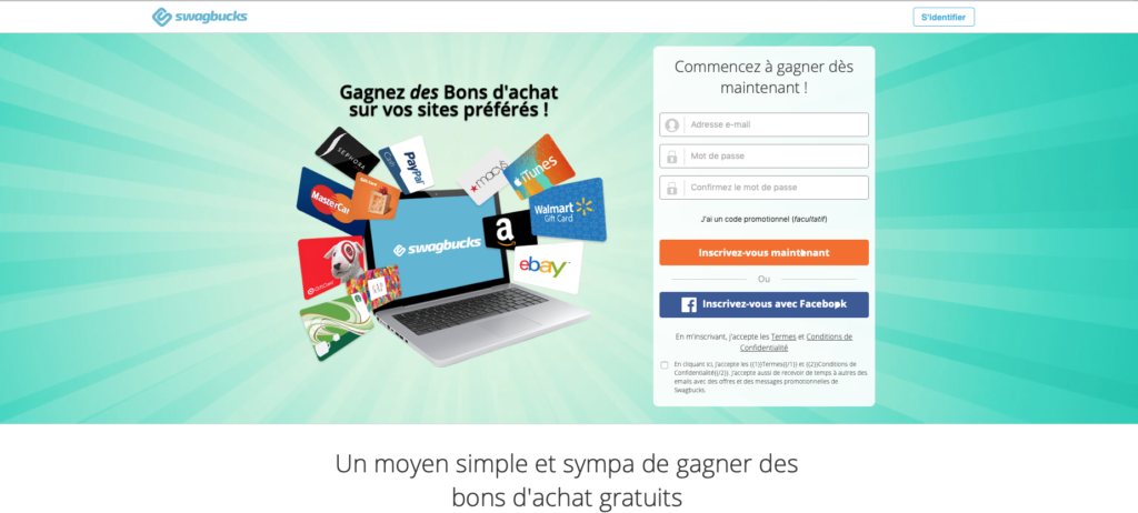 revenus sur Internet sans investissements top sites