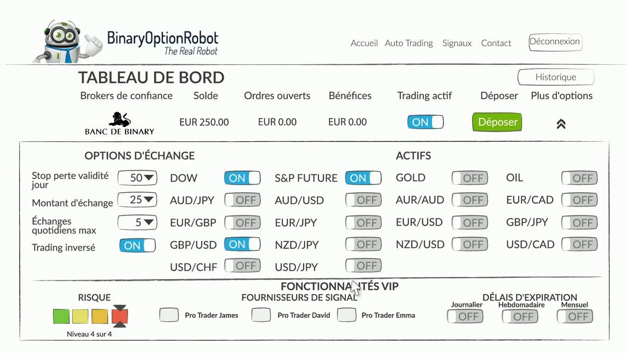 comment utiliser les options binaires q opton)