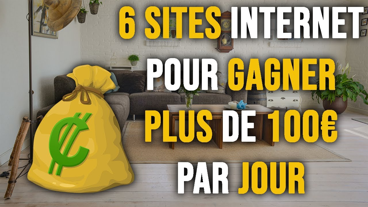 des gains importants sur Internet sans investissements