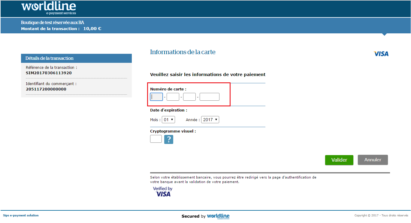 exemples de transactions avec options