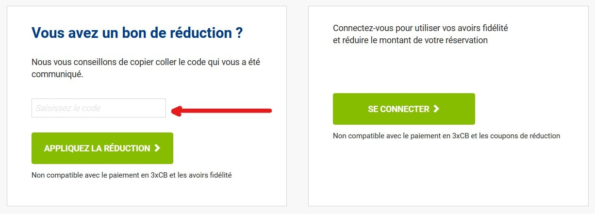 option et coupon