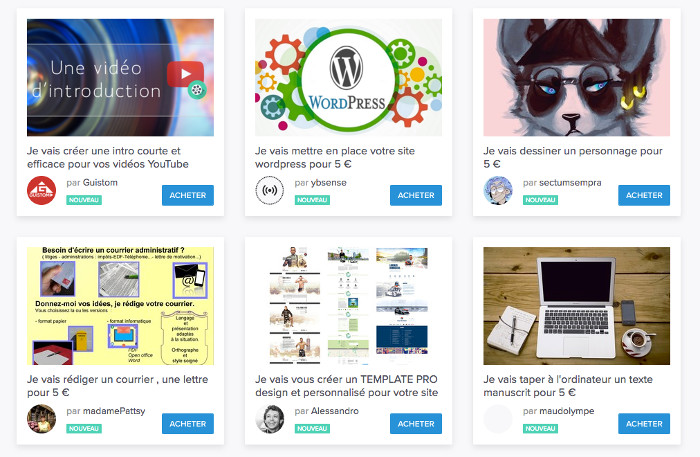 site Web pour gagner beaucoup dargent
